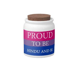 ヒンズー教およびBiがあること誇りを持った キャンディー皿