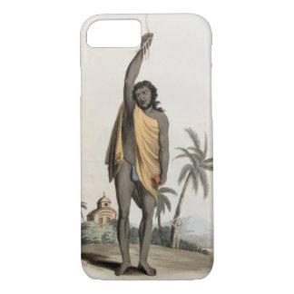 ヒンズー教の司祭、パブ。 エドワードOrme著、1804年(litho) iPhone 8/7ケース