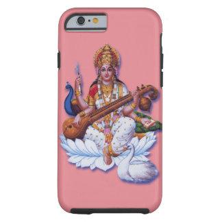 ヒンズー教の女神のSaraswatiのりんごのiphoneの懸命の場合 ケース