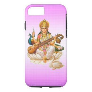 ヒンズー教の女神のsarswati maのりんごiPhone7の箱のデザイン iPhone 8/7ケース