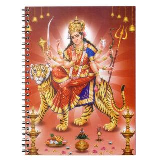 ヒンズー教の女神Durga ノートブック