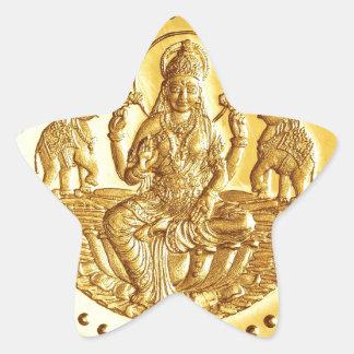 ヒンズー教の女神LAKSHMI 星シール