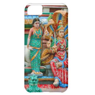 ヒンズー教の寺院の姿、シンガポール iPhone5Cケース