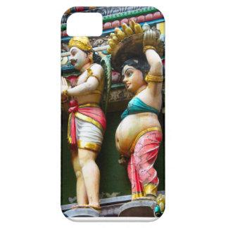 ヒンズー教の寺院の姿、シンガポール iPhone SE/5/5s ケース