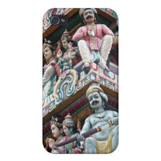 ヒンズー教の寺院-少しインド、シンガポール iPhone 4/4Sケース