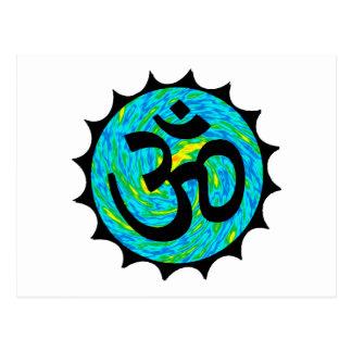 ヒンズー教の指導 ポストカード