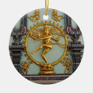 ヒンズー教の神、Shiva セラミックオーナメント