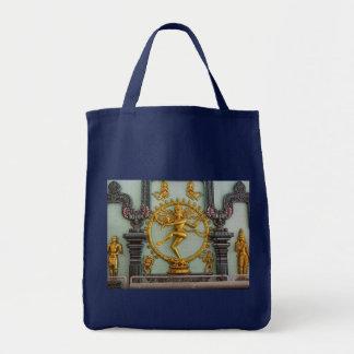 ヒンズー教の神、Shiva トートバッグ