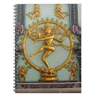 ヒンズー教の神、Shiva ノートブック