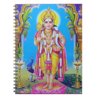 ヒンズー教の神Muruga ノートブック