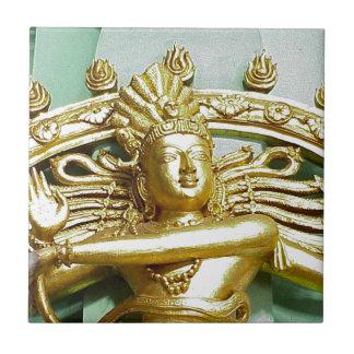 ヒンズー教の神Shivaの彫像 タイル