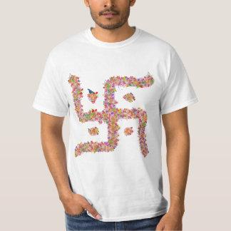 ヒンズー教のGammadionの十字 Tシャツ