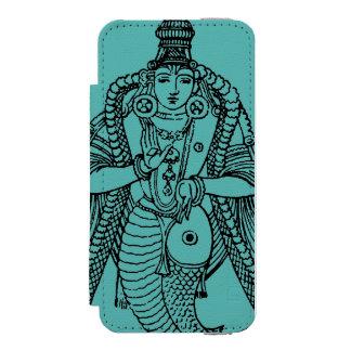 ヒンズー教: Vishnu iPhone SE/5/5sウォレットケース