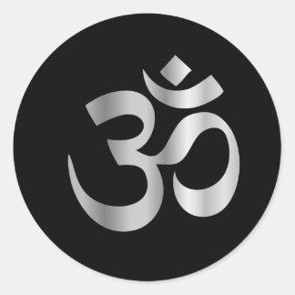ヒンズー教Pranavaの宗教記号 ラウンドシール
