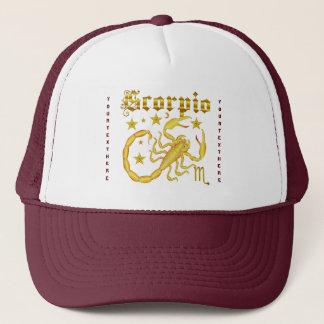 ヒントの下の(占星術の)十二宮図の蠍座デザイン1の眺め キャップ
