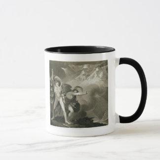 ヒースのマクベス、Banquoおよび3人の魔法使い マグカップ