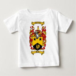 ヒースの家紋-ヒースの紋章付き外衣 ベビーTシャツ