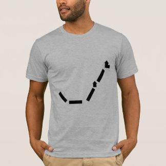 ヒースの灰色のアメリカの服装のTシャツ(合う) Tシャツ
