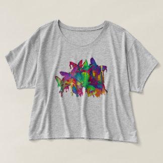 ヒースの灰色の明るい蝶 Tシャツ