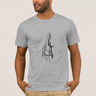 ヒースのfeesh tシャツ