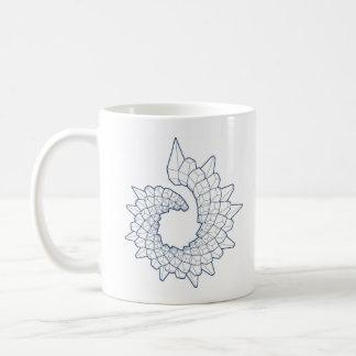 ヒースのSatowの彫刻のマグ コーヒーマグカップ