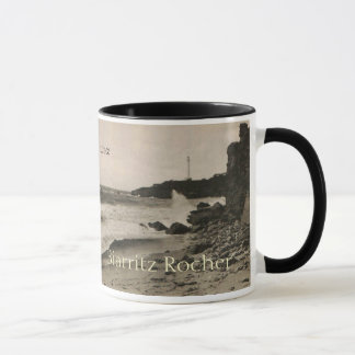 ビアリッツ- Rocher de la Virgeフランス1920年 マグカップ