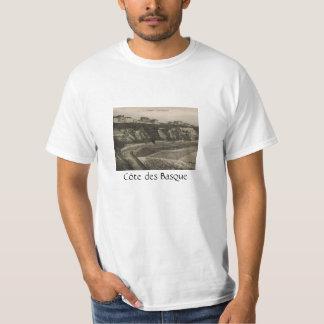 ビアリッツCôte desのバスク語フランス Tシャツ