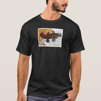 ビオラの女性のティー Tシャツ