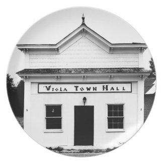 ビオラの市庁舎 プレート