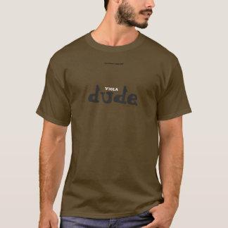 ビオラの男 Tシャツ