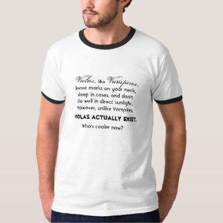 ビオラは実際にあります Tシャツ