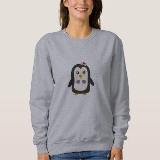 ビキニを持つペンギン スウェットシャツ