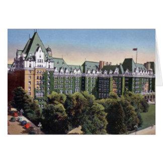 ビクトリアブリティッシュ・コロンビアカナダ皇后のホテル カード