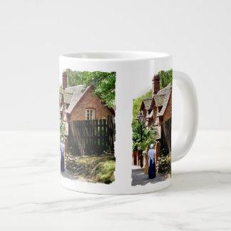 ビクトリアンなイギリス ジャンボコーヒーマグカップ