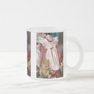 ビクトリアンなイギリス フロストグラスマグカップ