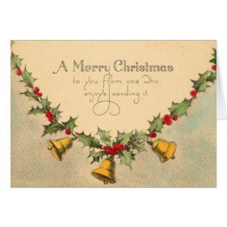 ビクトリアンなクリスマスカード カード