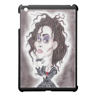 ビクトリアンなゴシック様式暗い風刺漫画のスケッチのタブレット iPad MINIケース