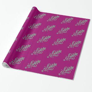 ビクトリアンなスタイルの包装紙 ラッピングペーパー