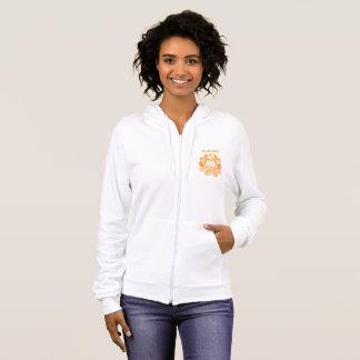 ビクトリアンなテーマのHummelの紋章のフード付きスウェットシャツ パーカ