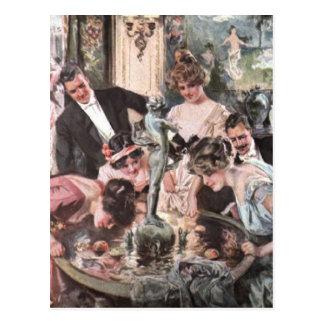ビクトリアンなハローウィンパーティ ポストカード