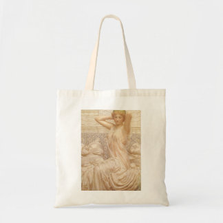 ビクトリアンなファインアート、アルバートヨセフムーア著銀 トートバッグ