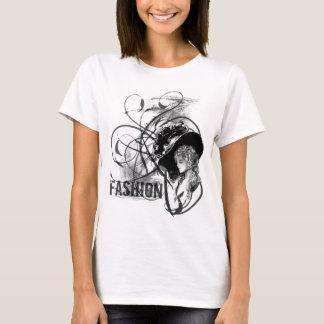 ビクトリアンなファッション Tシャツ