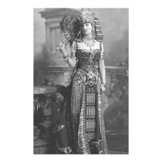 ビクトリアンな古代エジプトの衣裳 便箋