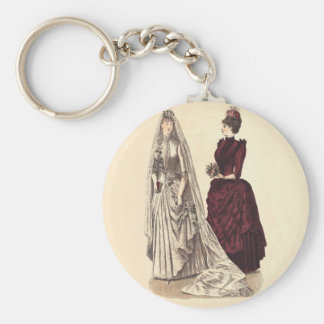 ビクトリアンな婚礼衣裳 キーホルダー