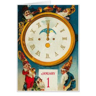 ビクトリアンな新年 カード