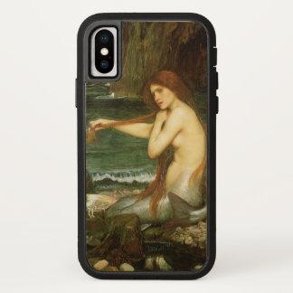 ビクトリアンな神話の芸術、JWのウォーターハウスによる人魚 iPhone X ケース