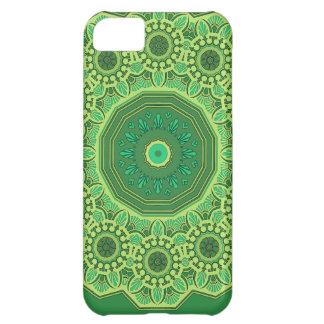 ビクトリアンな緑第1 iPhone5Cケース