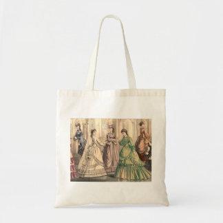 ビクトリアンな花嫁および付き添い人 トートバッグ