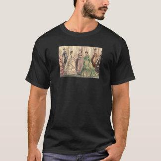 ビクトリアンな花嫁および付き添い人 Tシャツ