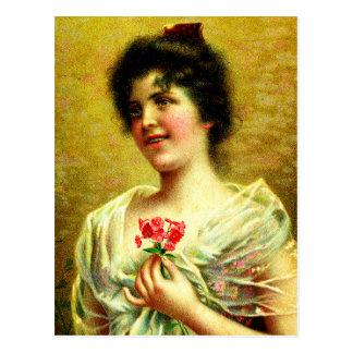ビクトリアンな花嫁 ポストカード